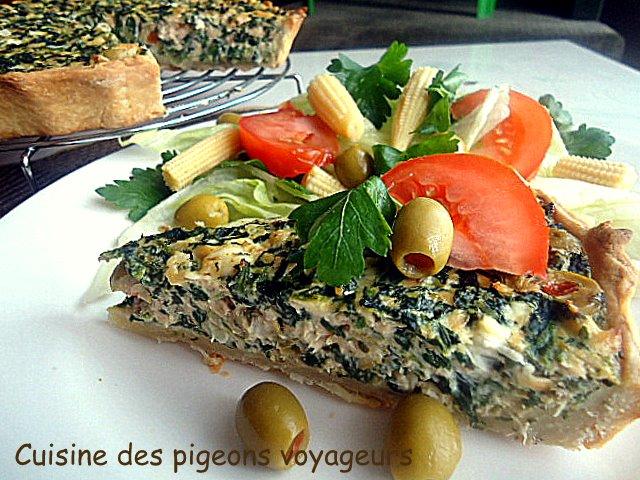 C hier de recettes des pigeons voyageurs quiche au for En cuisine qu est ce qu une girolles