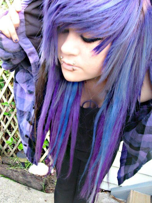 Creative Emo Hairstyles Images And Video Tutorials - Emo girl hairstyle video