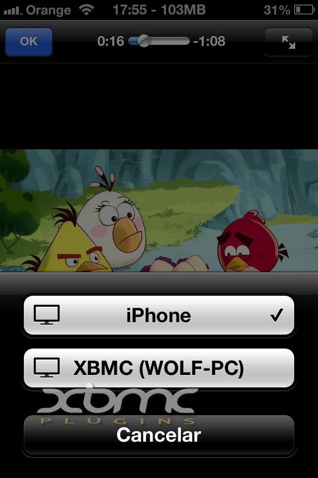 XBMC UPNP iPHONE