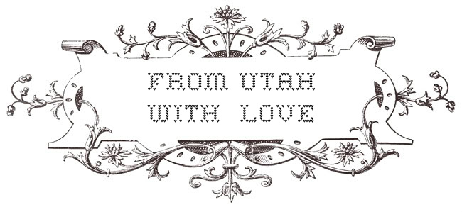FROM UTAH WITH LOVE