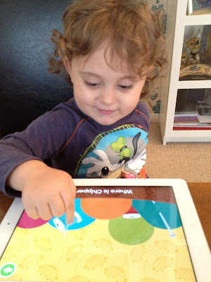 Chipper's Rainy Day Adventure iPad App