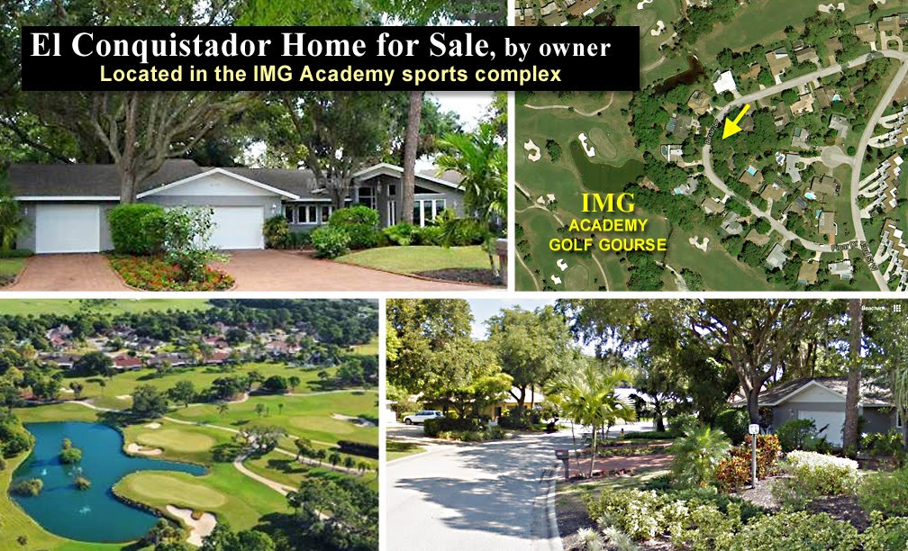 IMG Academy Home for Sale - El Conquistador