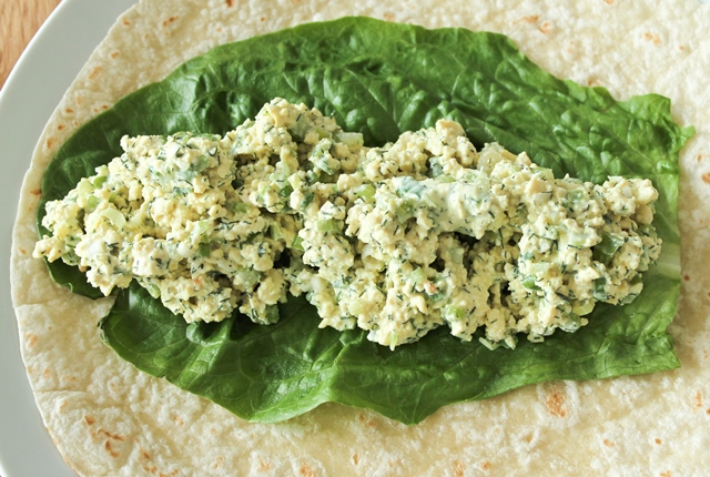 Tofu Salad Wrap