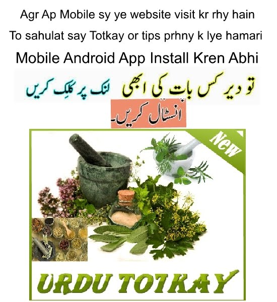 Download Urdu Totkay For Android Mobiles