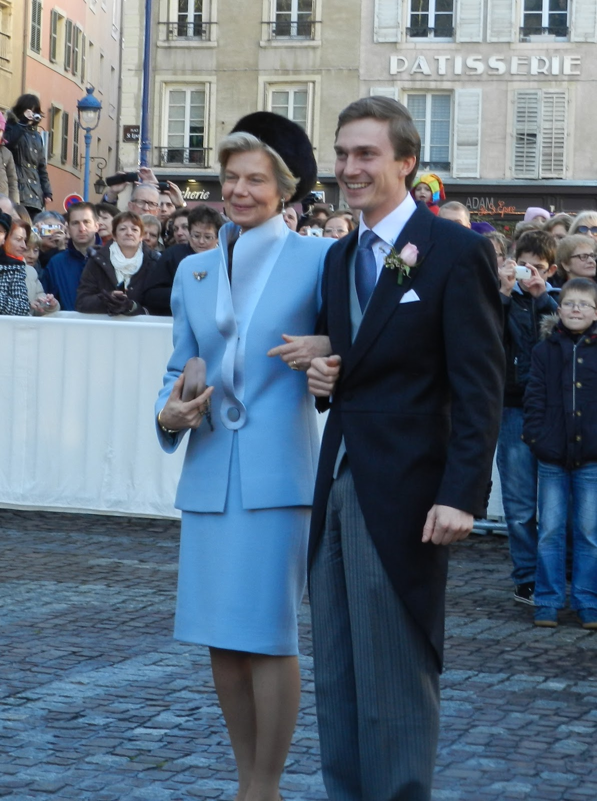Royal Musings: Christoph and Adelaide of Austria\'s wedding
