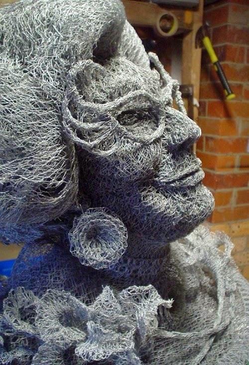 Seni Menakjubkan Dari Jaring Plastik