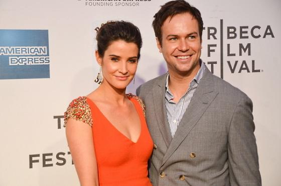 Cobie Smulders With Her Husband - 26.9KB