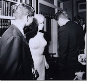 Marilyn and Kennedy brothers