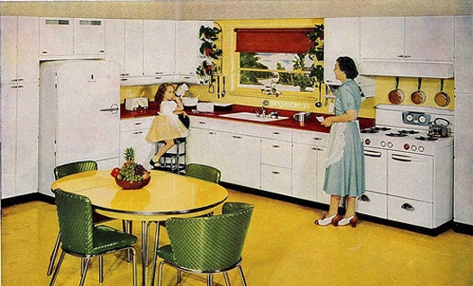 Living Vintage: Kitchen Remodel Ideas