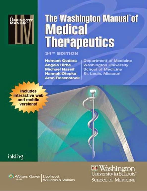 The Washington Manual Of Medical Therapeutics 34th Edition