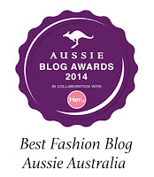 Winner: Best Fashion Blog by Aussie