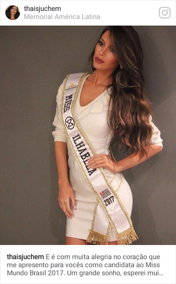 Miss Ilhabela CNB 2017