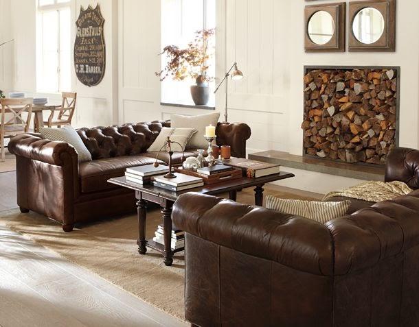 Living room by pottery barn for Pottery barn living room ideas pinterest