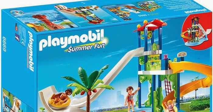 Libros y juguetes 1demagiaxfa juguetes playmobil summer fun 6669 parque acu tico con - Playmobil piscina ballena ...
