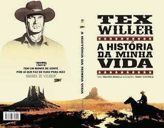 Capa do livro Tex Willer - A história de minha vida