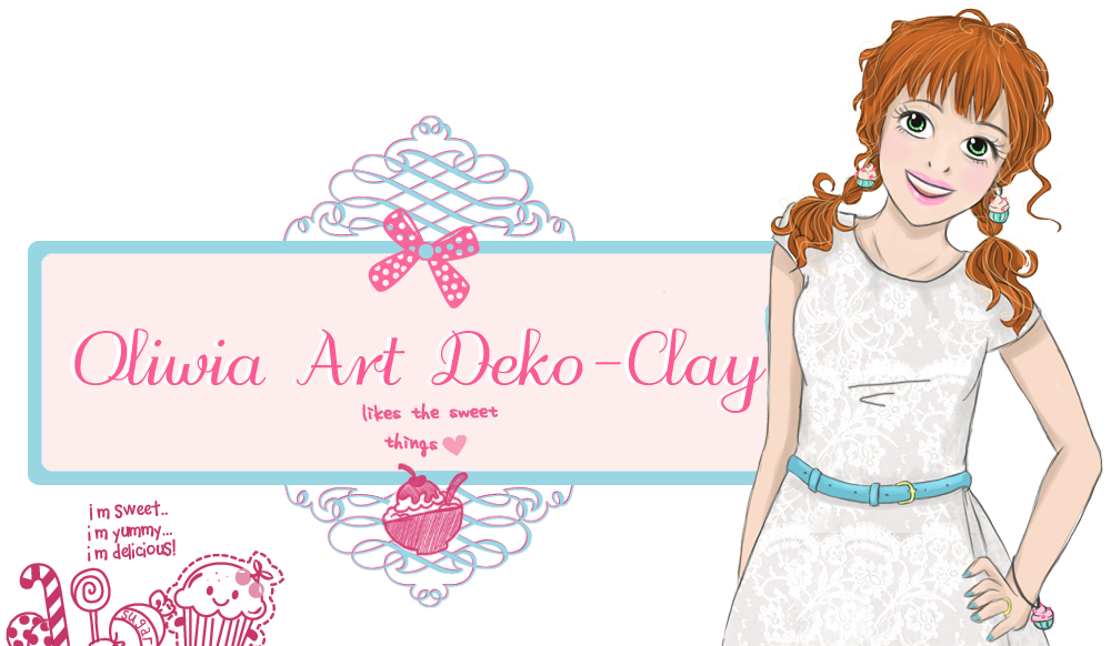 Oliwia Art Deco Clay