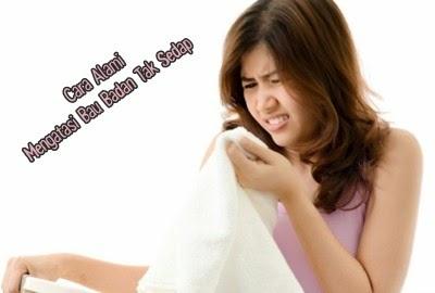 Tips Cara Alami Mengatasi Bau Badan Tak Sedap