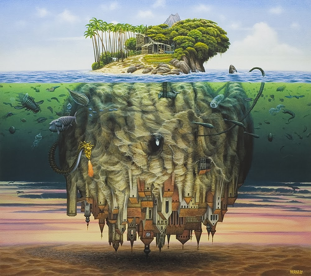 09-Jacek-Yerka-Surreal-Dream-Paintings-www-designstack-co