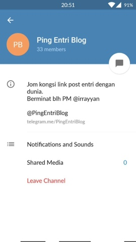 Auto Ping Entry Blog di Telegram - ABAM KIE : Man of The House