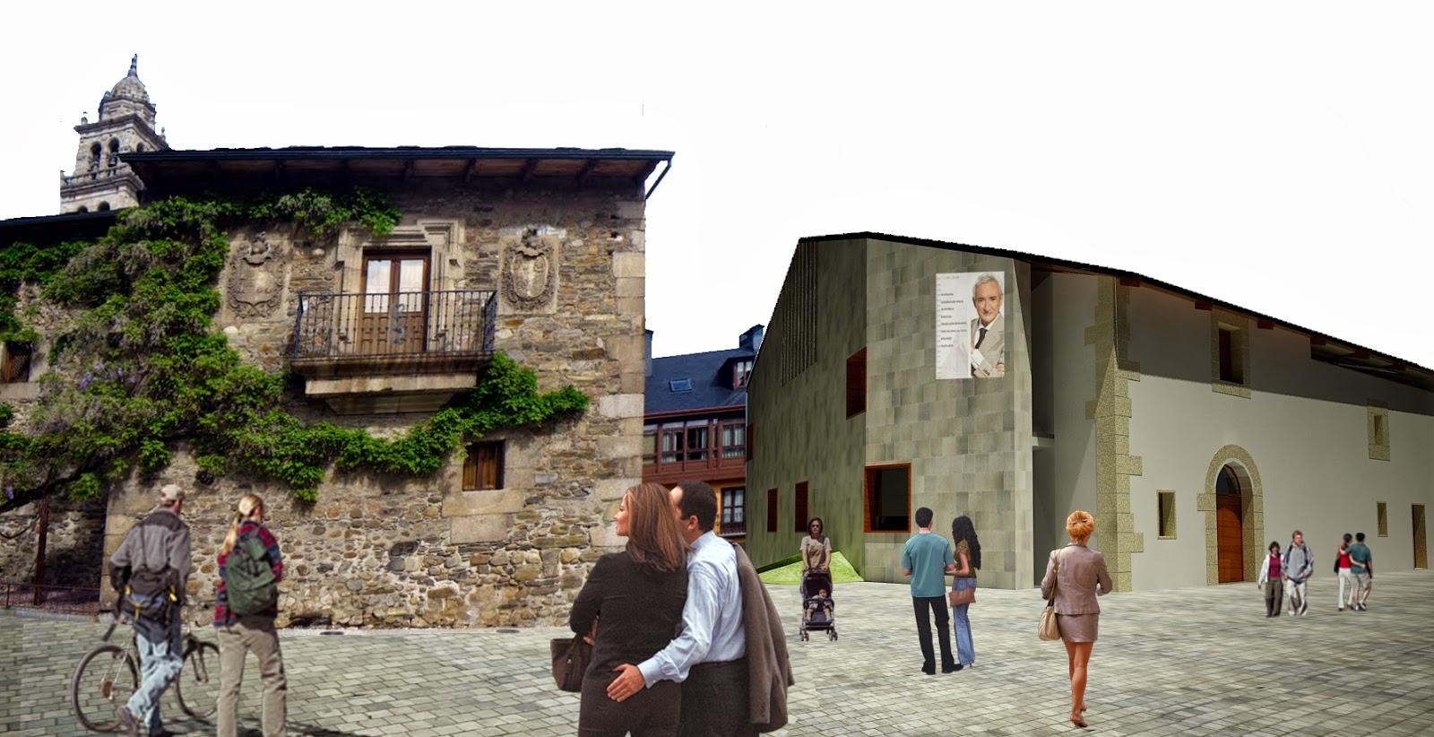 Canca carrero arquitectos ampliaci n del museo de la - Arquitectos ponferrada ...