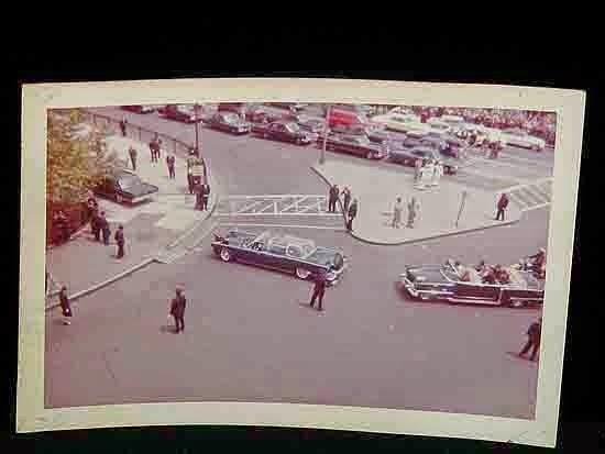 JFK bubbletop Battery Park, New York 5/23/63