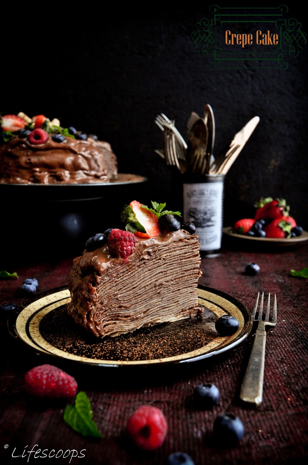 Crepe Cakes Pinterest