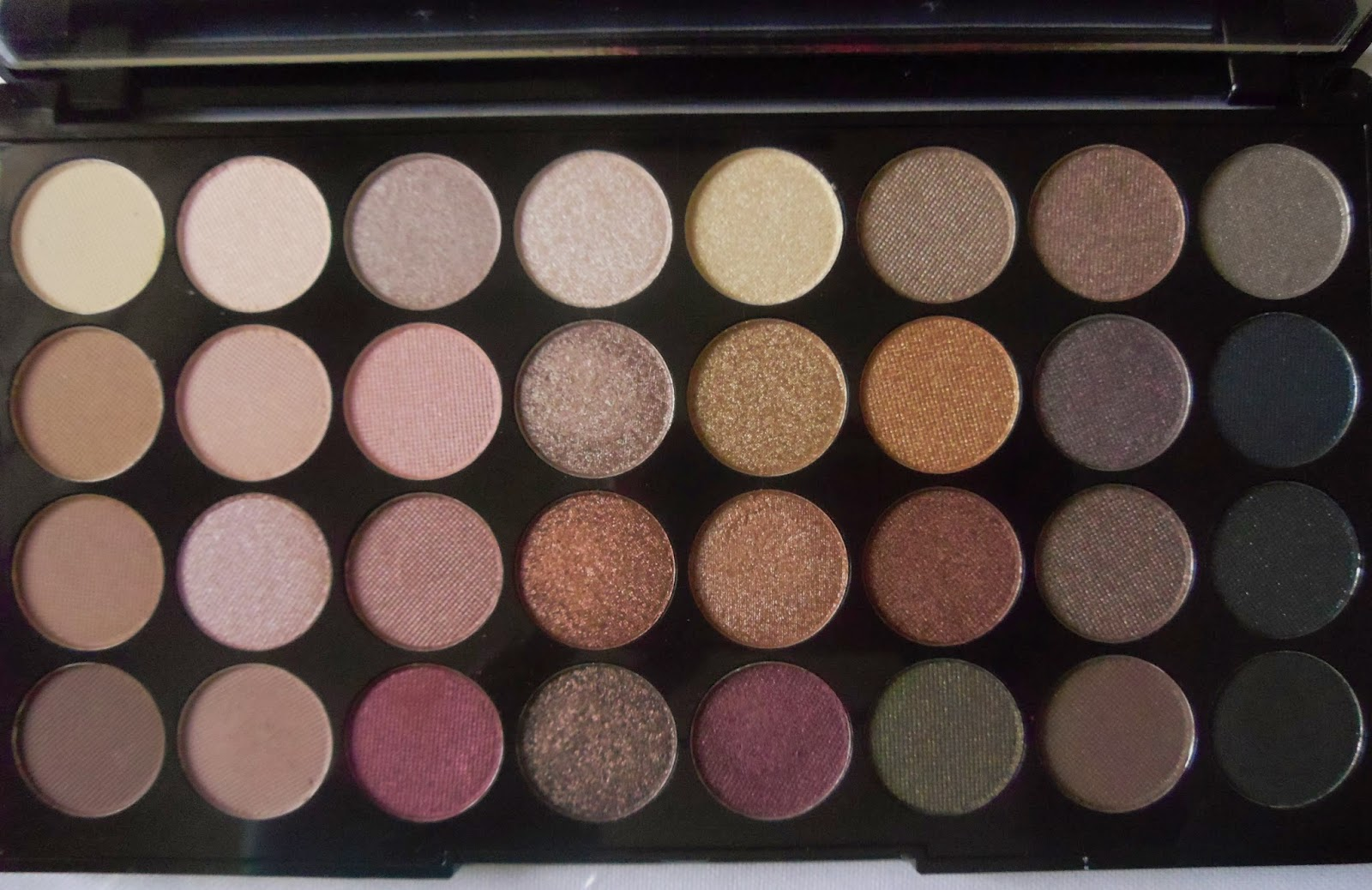 Makeup Revolution Flawless Palette review