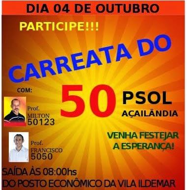 Carreata PSOL