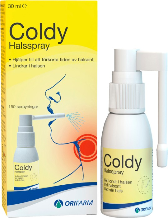cold spray mot förkylning