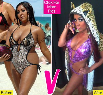Snooki on Snooki Before After 98