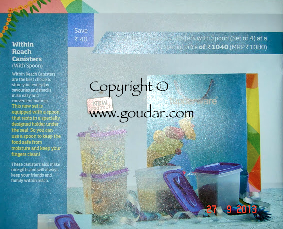Tupperware India Flyer October 2013 / Tupperware Consumer Flyer ...