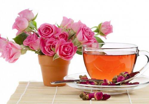 Bí quyết giảm cân với trà hoa hồng