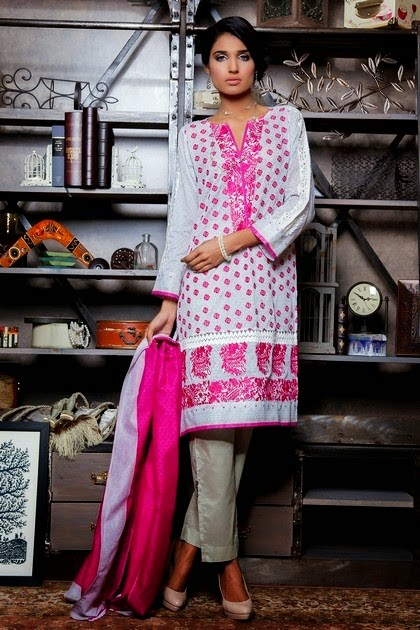 Khaadi Lawn Embroidery Dresses
