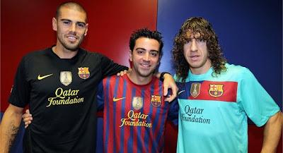 Barcelona recibió el Escudo de Campeón mundial