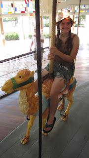 holly rides a camel