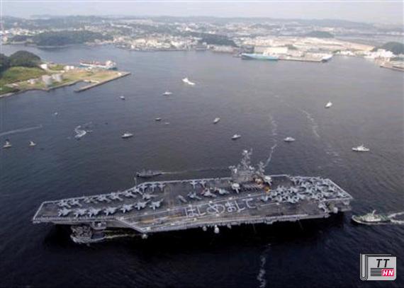 """""""Tàu chiến Mỹ sẵn sàng 'tấn công khốc liệt' Syria"""""""