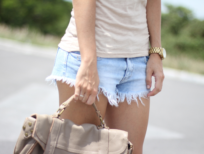 Casual outfit shorts blogger