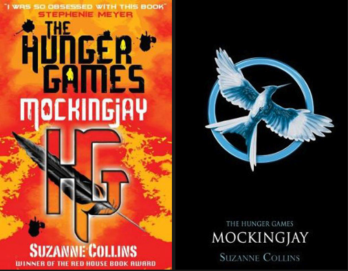 Hunger Games Mockingjay Book Cover