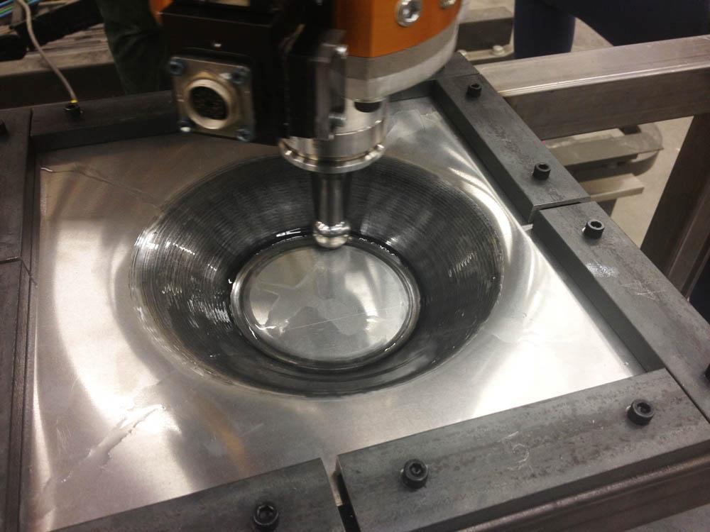 Practicum Robotic Incremental Sheet Metal Forming