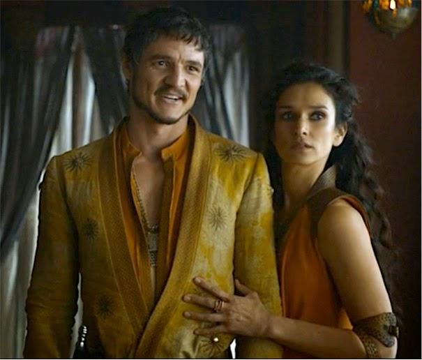 Ellaria Sand And Oberyn Martell