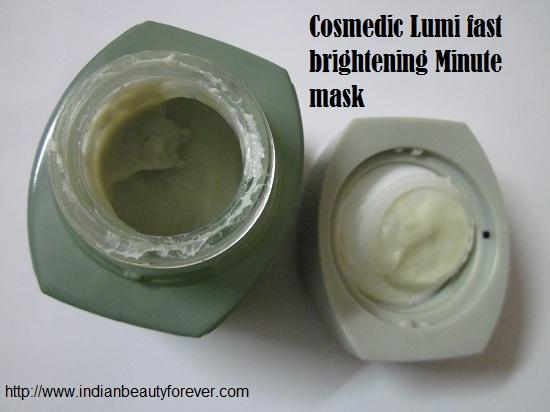 Cosmedic Lumi fast brighteningmask