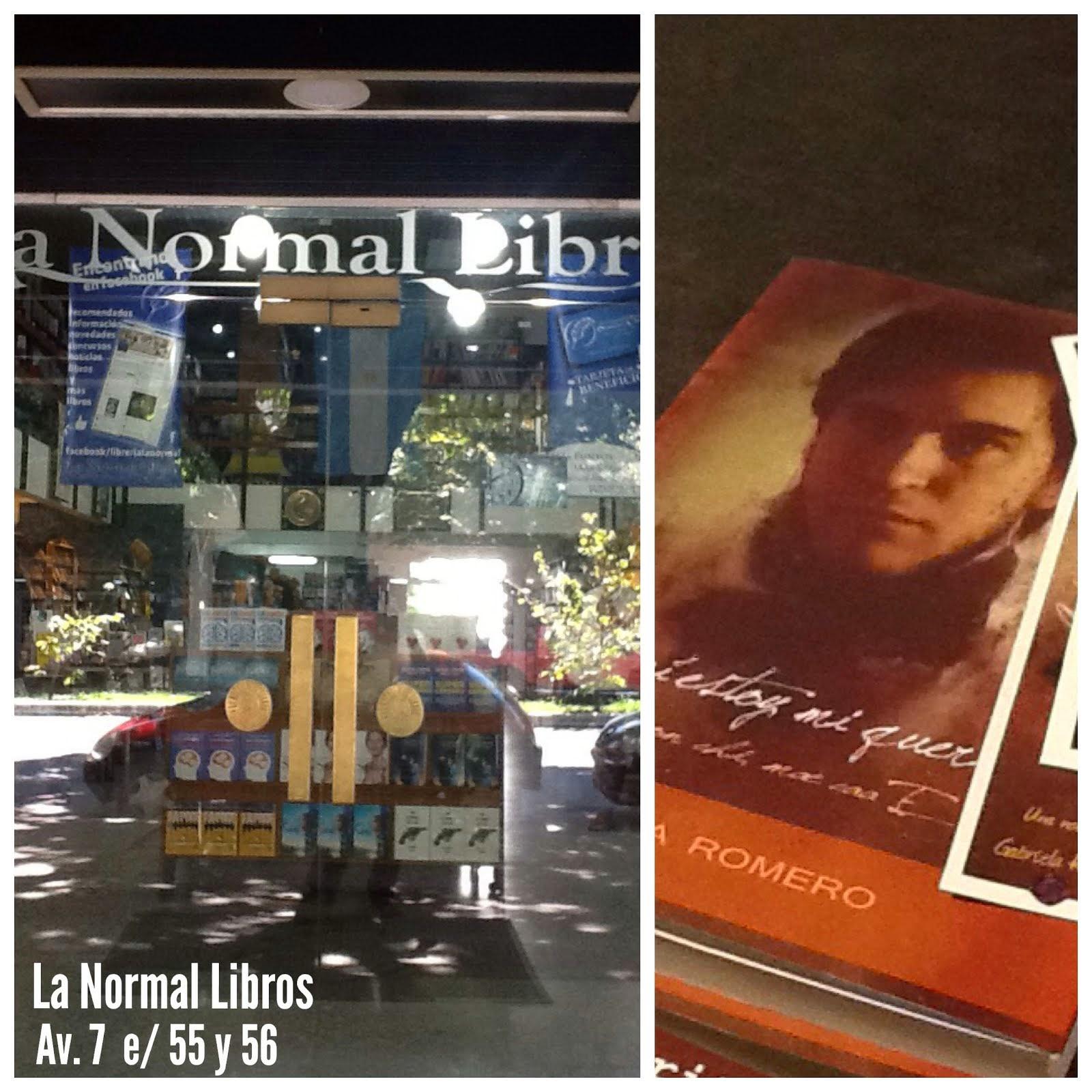 Mi novela en La Normal Libros