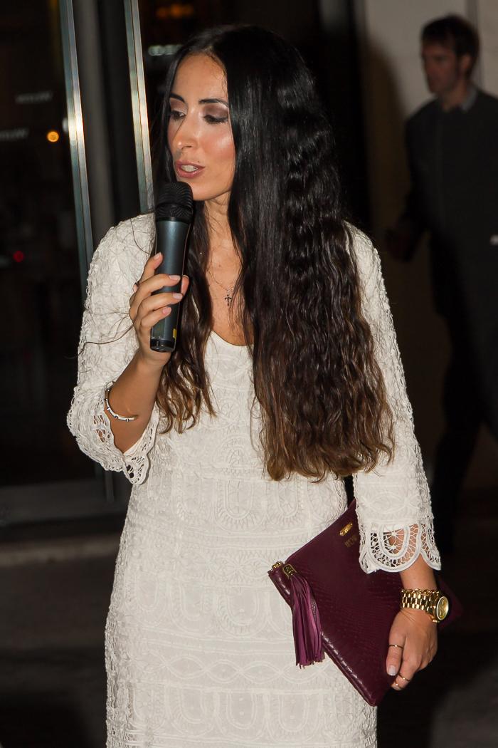 Blogger de moda withorwithoutshoes en Momento de la selección de las 5 ganadoras