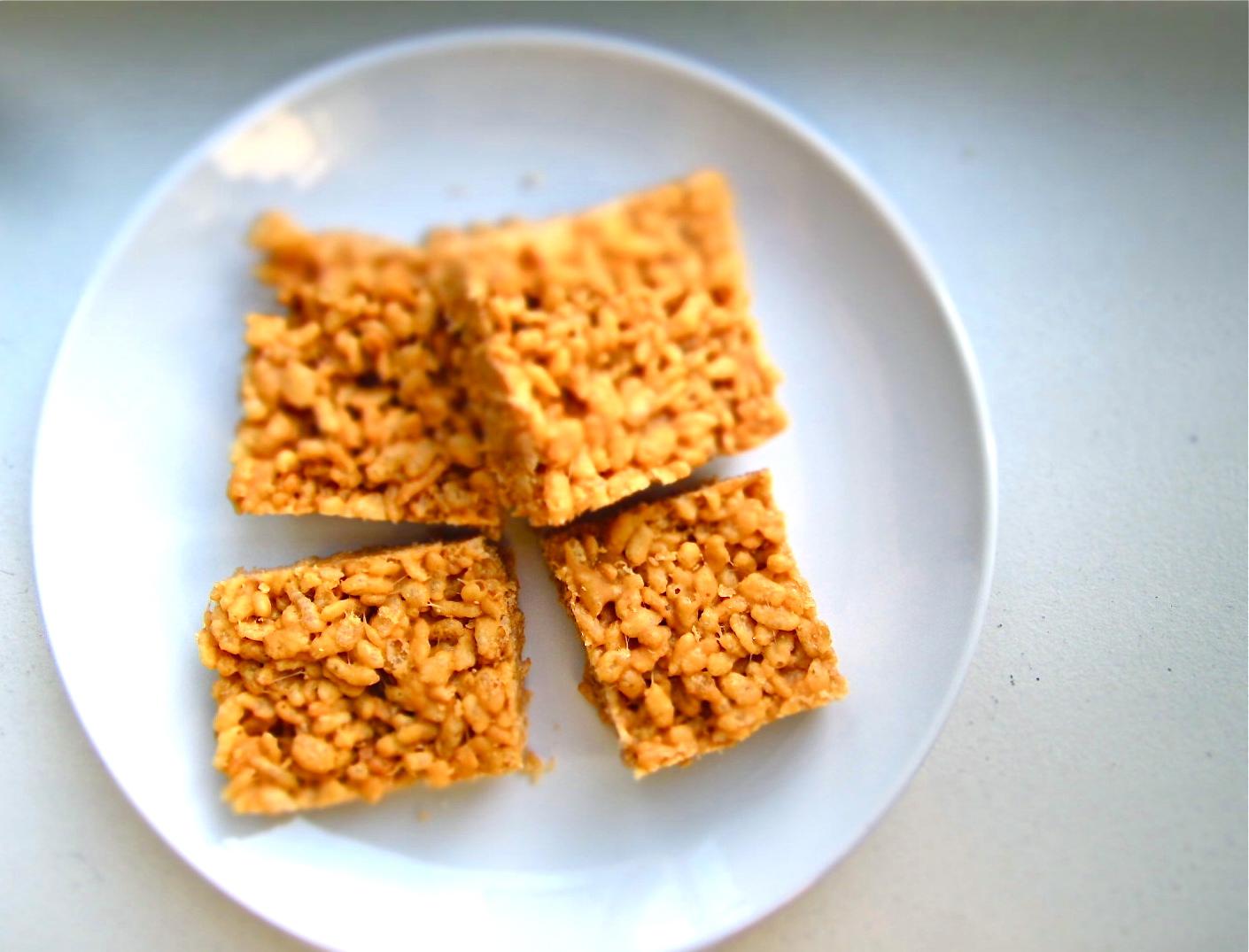 Milk & Mode: Peanut Butter Rice Krispie Treats