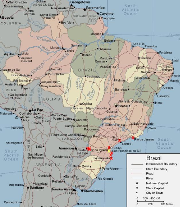 Ideas Map Of Brazil And The Equator On Emergingartspdxcom - Argentina map equator
