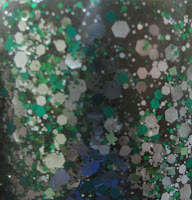 crunchy frog nail polish close view