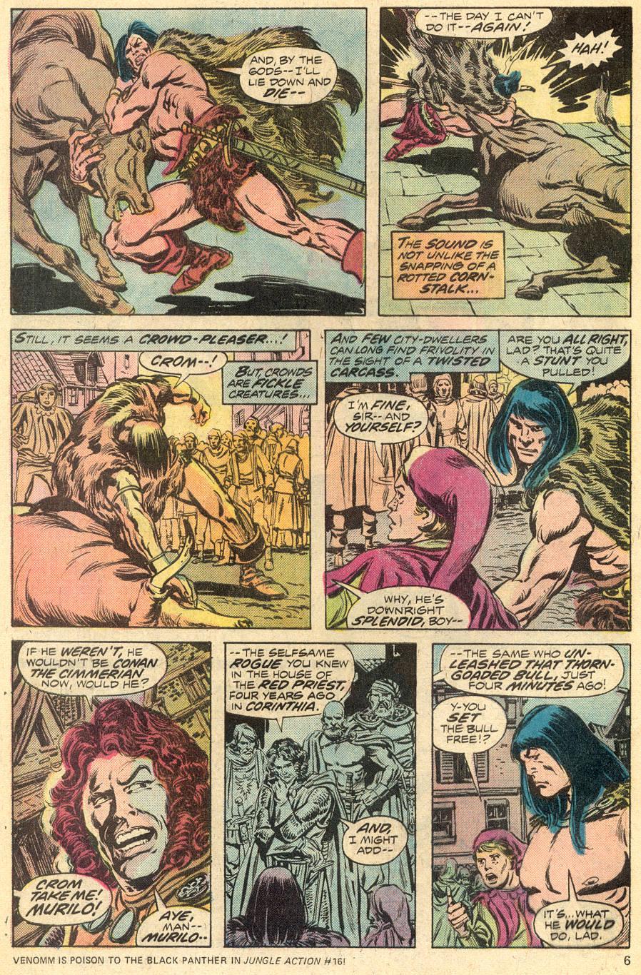 Conan the Barbarian (1970) Issue #52 #64 - English 5