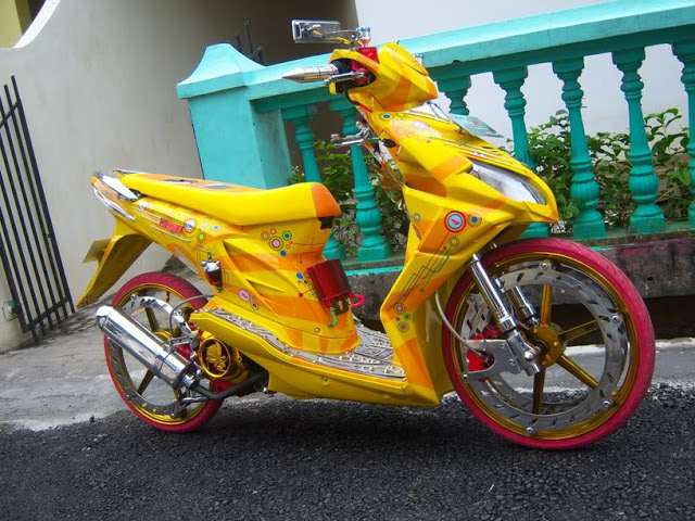 Modifikasi Honda Beat Ceper title=