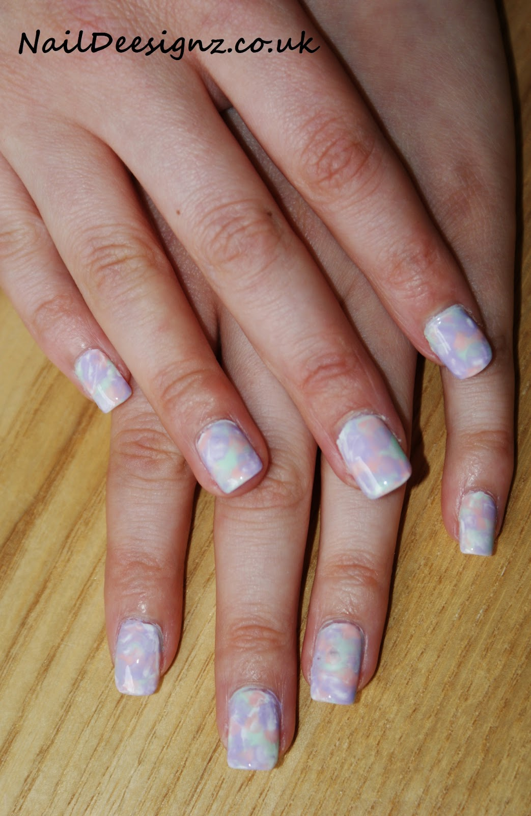 Christine\'s Nail Designs - Easy Nail Designs For Short Nails: Marble ...