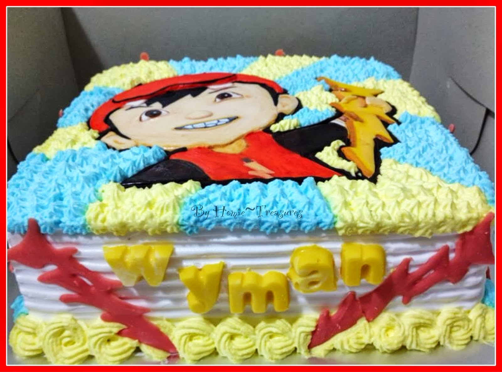 Cake Art Flower Moulding Paste Instructions : My humble piece of Art: A Boy Cake